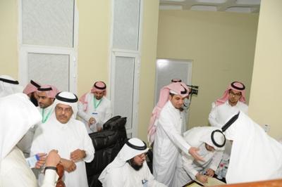 جانب من تسجيل الناخبين قبل الاقتراع