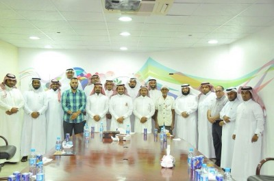 صورة جماعية لمنسوبي الجمعية