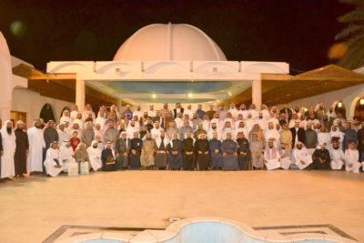 صورة جماعية لمنسوبي جمعية البر بالأحساء
